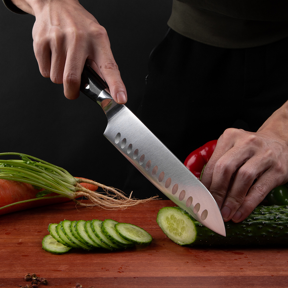 German Lifetime Quality High Carbon Steel Master Chef Knives 5