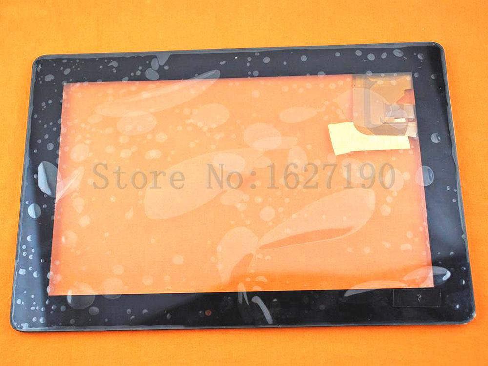 ФОТО NEW High Quality Touch Screen for Asus tf300 5158n Black Original  Replacement Screen Glass Free Shipping