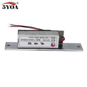 Image 5 - Контроль доступа, 12 В постоянного тока, с защитой от неисправности, узкий дверной электрический замок для блокировки питания