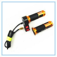Electric Twist Throttle Hand Grips With Forward Reverse Gear 3 Speed Switch For Electric Scooter Tricycle