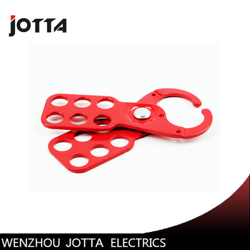 Industrial Hasps Six hole steel safety lockout Hasp Diameter 25mm in Locks from Home Improvement