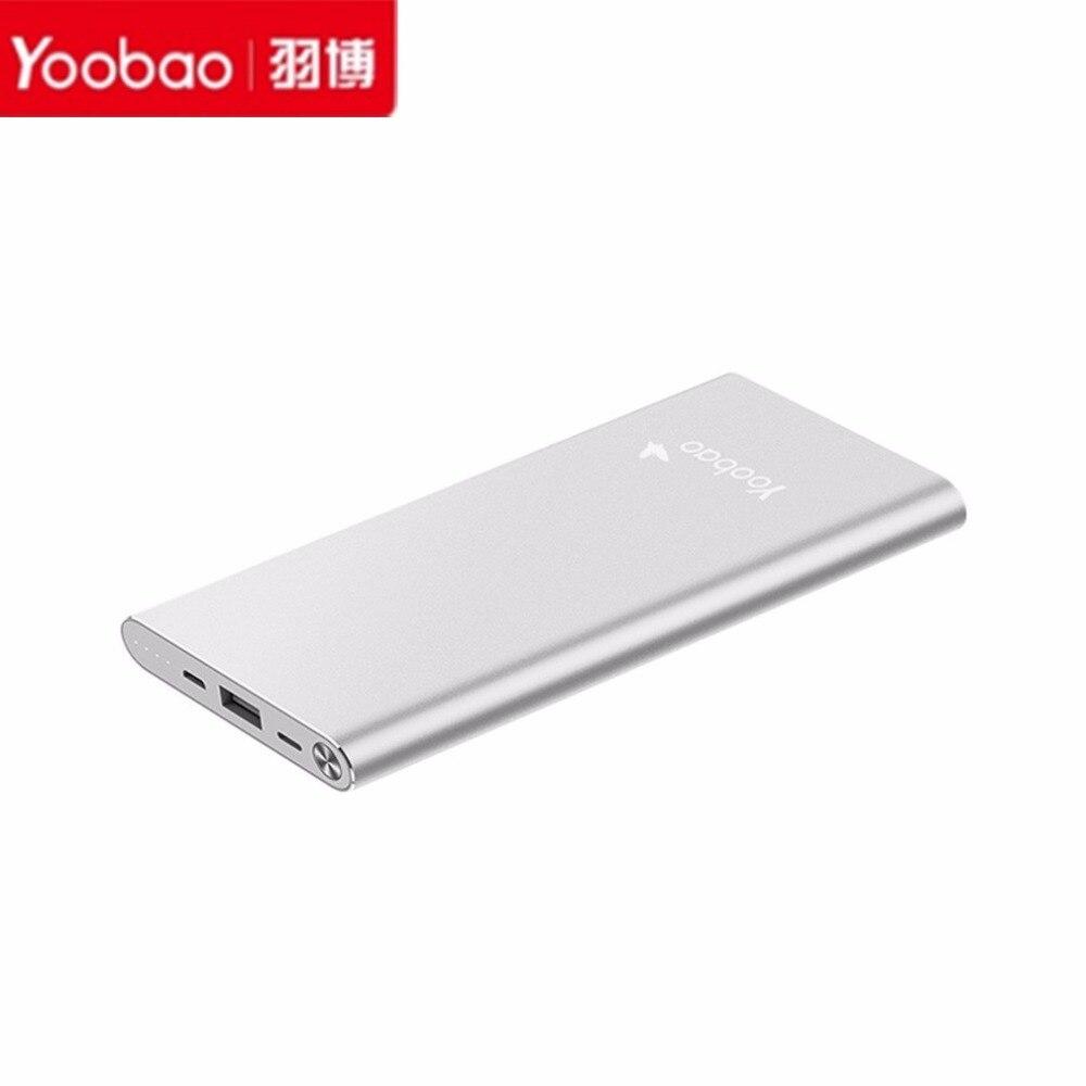 Caliente Yoobao 10000mAh-Air USB 2.1A Cargador Portátil Batería Externa del Banc