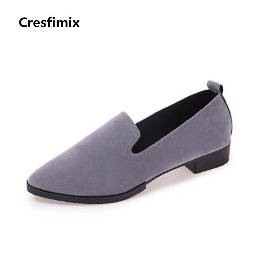 Cresfimix zapatos de mujer women fashion pointed toe height increased shoes lady cute street stylish shoes female cool shoes cresfimix zapatos de mujer women fashion pu leather street flat shoes lady sexy