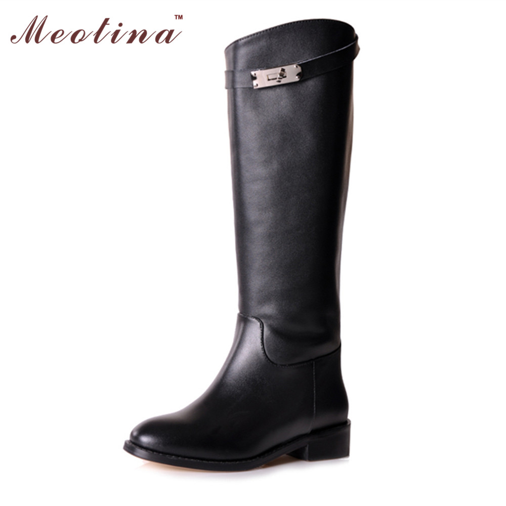 Clearance Sale Women Boots Genuine Leather Shoes Women Spring ...