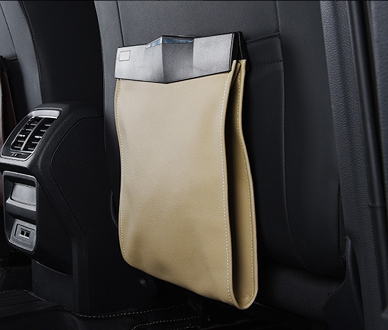 1pc for SKODA KODIAQ rear chair Back Disposable bag storage bag in Nets from Automobiles Motorcycles