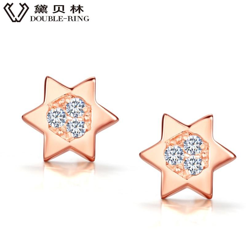 silver earrings CAE01847SA-3