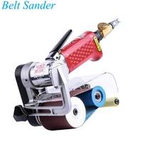 YUNLINLI Pneumatic Belt Grinder Adjustable Air Grinder Small Sandpaper Machine R 6026