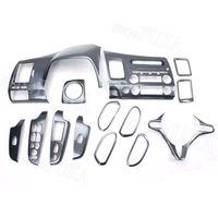 Барбекю @ FUKA 14 шт. углеродного волокна салона Декоративные крышка отделка ABS Тюнинг автомобилей для Honda Civic 8th 2006 2011 автомобилей наклейки