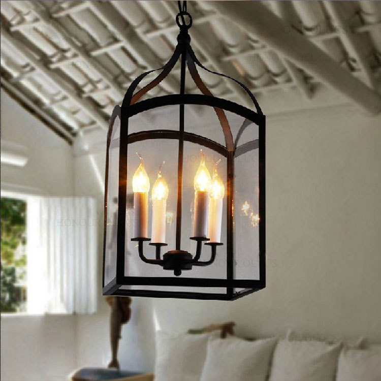 Luminaria Pendente Glass Pendant Lights Nordic loft Iron Pendant Lights Vintage Pendant Lamp Lights for dining room modern 50cm aluminium luz pendente modern lamp designs ph artichoke pendant lights for home white luminaria 110v 220v