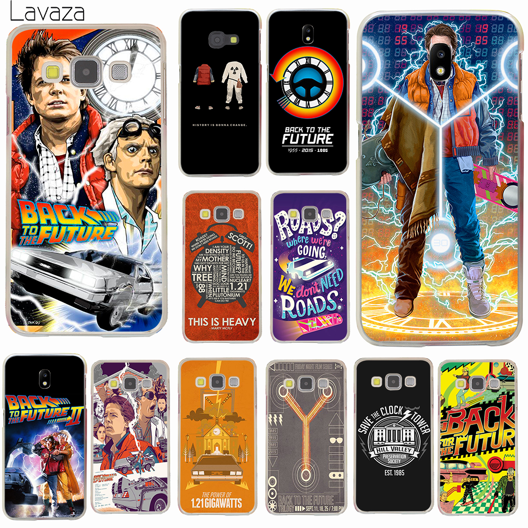Lavaza Back To The Future Hard for Samsung Galaxy J1 J2 J3 J5 J7 2015 2016 2017 US EU Version Prime Case