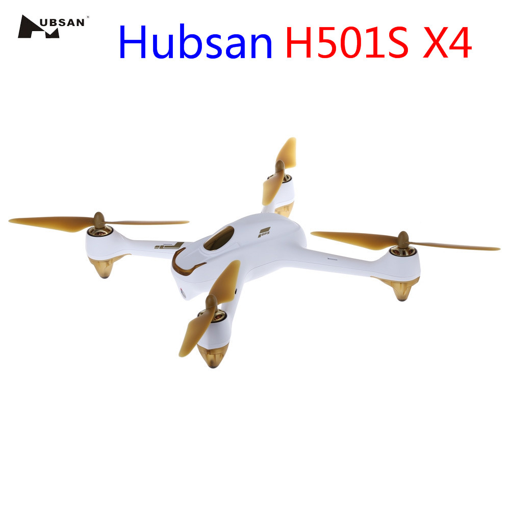 Original Hubsan H501S X4 RC Drone With Camera 1080P HD GPS/Follow Me Mode Quadcopter Toys 5.8G FPV 10CH Headless RC Helicopter mini drone rc helicopter quadrocopter headless model drons remote control toys for kids dron copter vs jjrc h36 rc drone hobbies