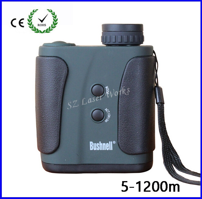 7X32 Hot Sale 1200m Golf Hand-held Hunting Laser Range Finder RF-006 Range Measuremt For Golf Rangfinder Free Shipping
