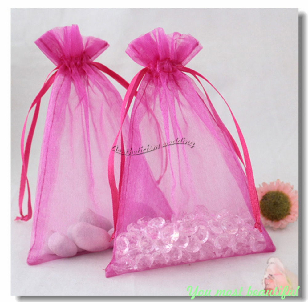 Sheer Wedding Favor Bags Bulk : Organza Pouch Wedding Favor Jewelry Gift Sweet Candy Bags-in Gift Bags ...