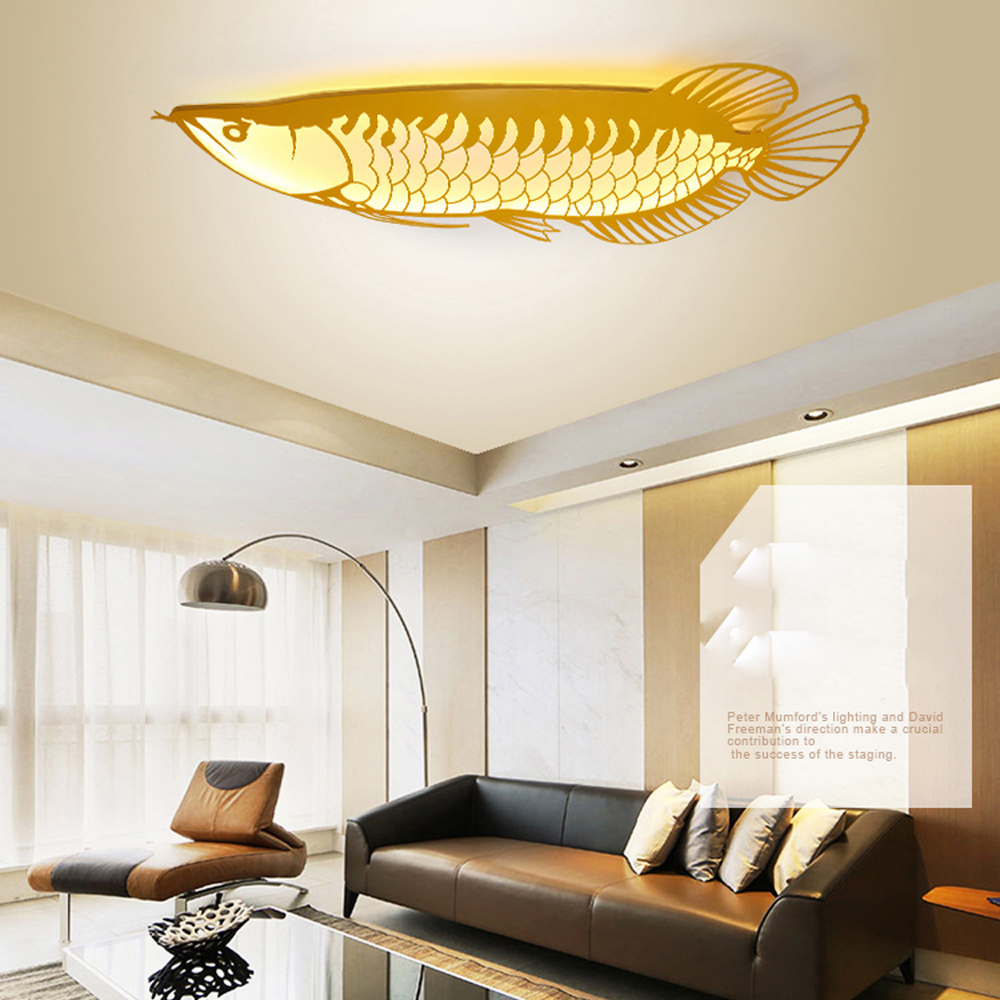 LED Nordic Iron Acryl Gold Arowana LED Lamp LED Light Wall lamp Wall Light Wall Sconce Outdoor Lamp For Foyer Bedroom Corridor led nordic iron crystal gold clear led lamp led light wall lamp wall light wall sconce for bedroom corridor