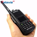 DMR Радио Цифровой IP67 Водонепроницаемый Walkie Talkie 5 Вт Retevis RT8 UHF400-480MHz 2200 мАч 1000CH Портативный 2 Way Радио Набор для Охоты
