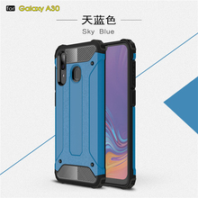 For Samsung Galaxy A30 Case SM-A305F Shockproof Armor Rubber Phone Back Cover Fundas