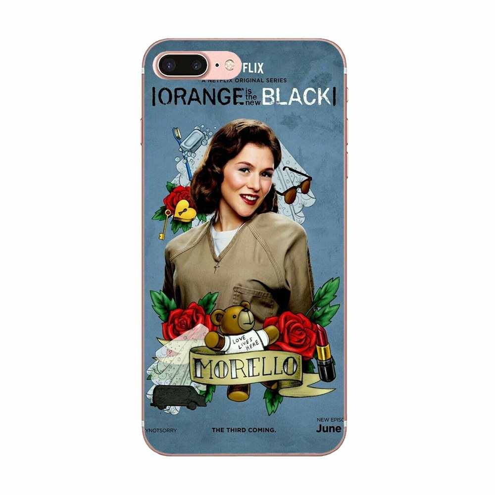 البرتقالي هو جديد الأسود المشارك تلفزيوني ل شياو mi الأحمر mi هاتف محمول mi note 7 8 9 SE برو لايت الذهاب اللعب
