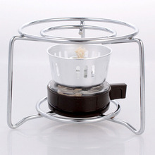 Coffee Maker For Mocha Turkish cofee Pot Alcohol Burner Spirit Stove with Stainless steel round frame original stovetop BS