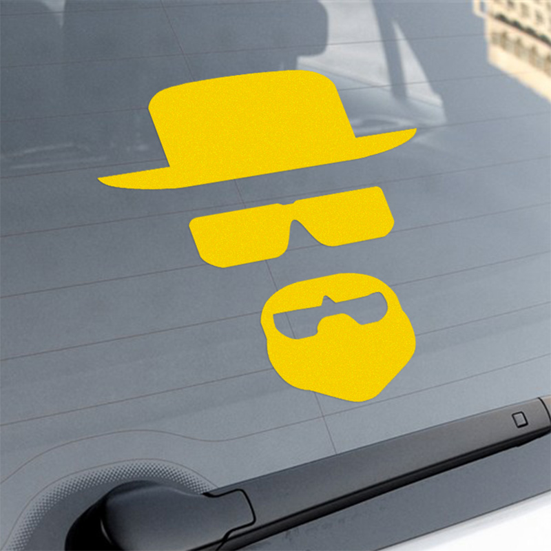 Breaking Bad Car Body Stickers Car-Styling For ford focus VW golf gti cruze Fiesta renault accessories