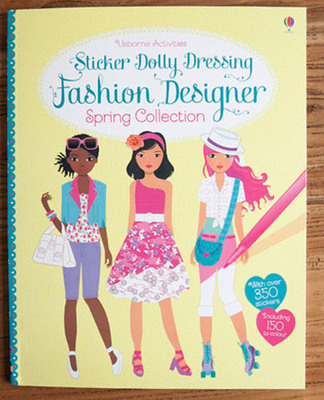 1 Pcs The New Four Seasons Fashion Designer Spring Colloction Princess Dress Sticker Books Girls Gifts For Children