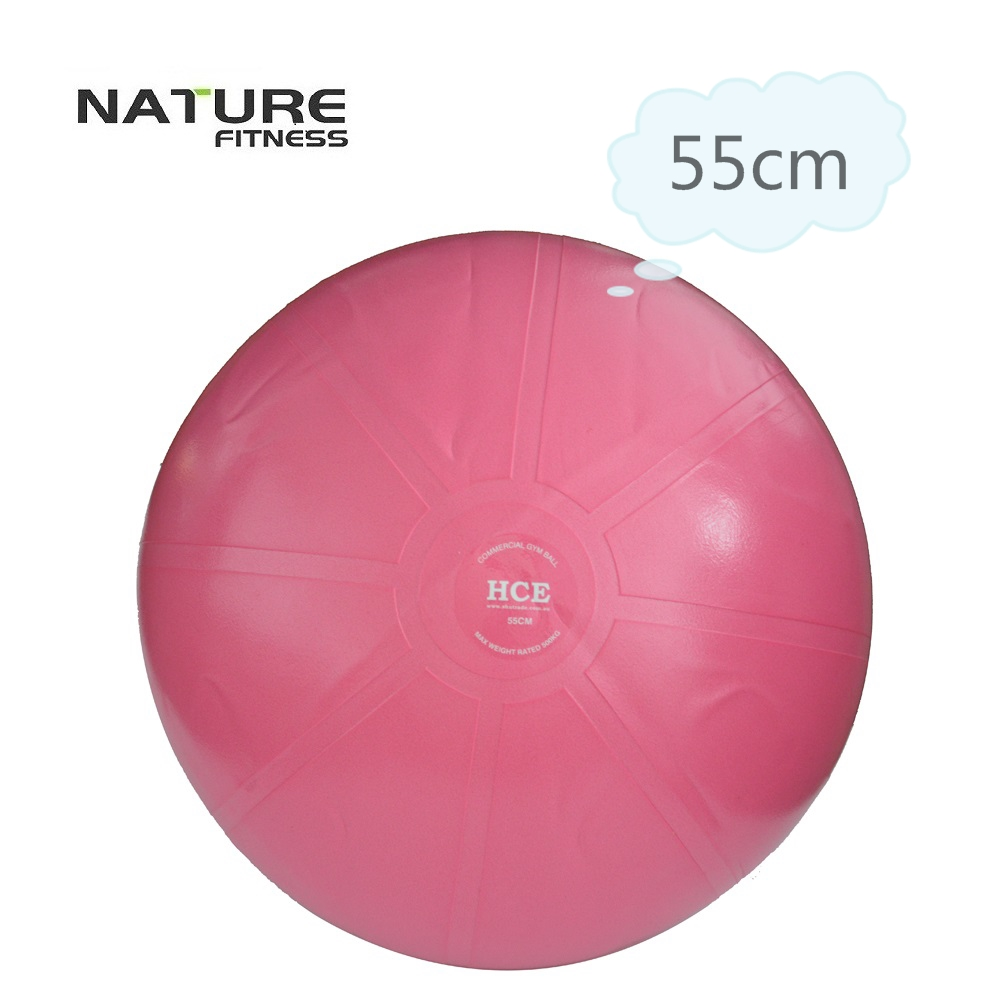 55cm Commerical Gymnastic Fitness Pilates Balance Exercise Gym Fit Yoga Core Ball Indoor Fitness Training Yoga Ball free pump