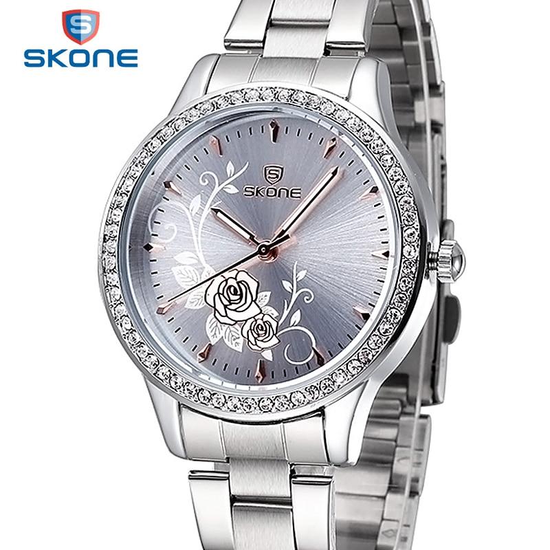 skone quartz watch women watches luxury famous brand watches women
