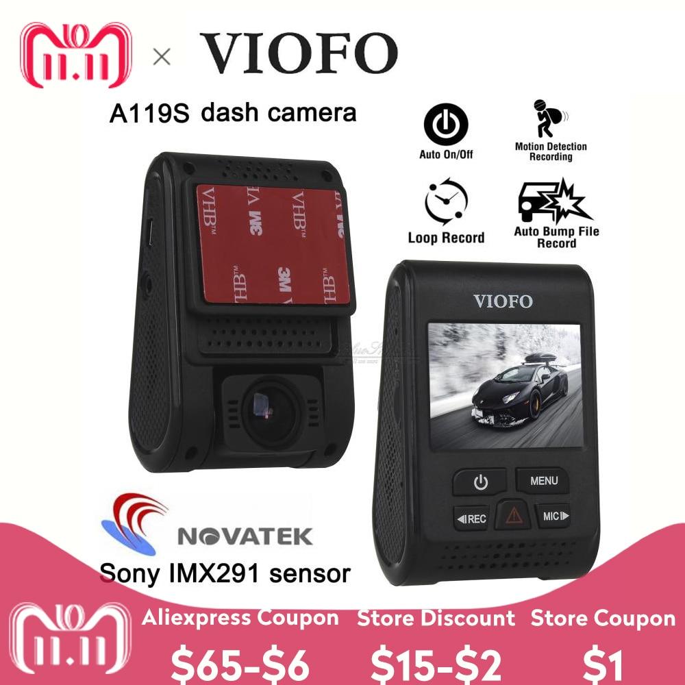 VIOFO Car DVR A119S Dashcam 1080P Upgraded V2 2.0