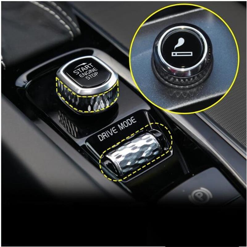 Para volvo xc60 s90 s60 xc90 v60 v40 s80 isqueiro carro modificado isqueiro acessórios do carro 2010-2018 2019