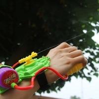 New Design Plastic Childs Wrist Water Gun Outside Summer Squirt Toy Water Sprinkling Pistol Kids Game