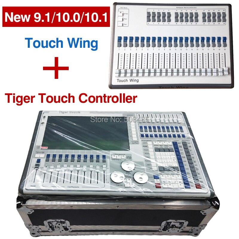 New tiger toque titan 11.1 v controlador de sistema e toque de asa com flightcase