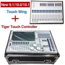 Nouveau contrôleur de système tiger touch titan 11.1 v et aile tactile avec flightcase