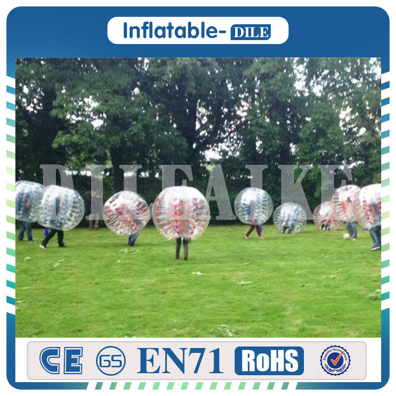 free shipping to door,10pcs balls+1pc air pump,bumper ball giant human body soccer inflatable bubble ball suit for football