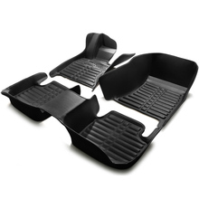 Coche tapetes alfombras pie set para Citroen C-QUATRE Triunfo elysee Picasso C2/4/5/4L de cuero caso Regal Park Avenue crema negro