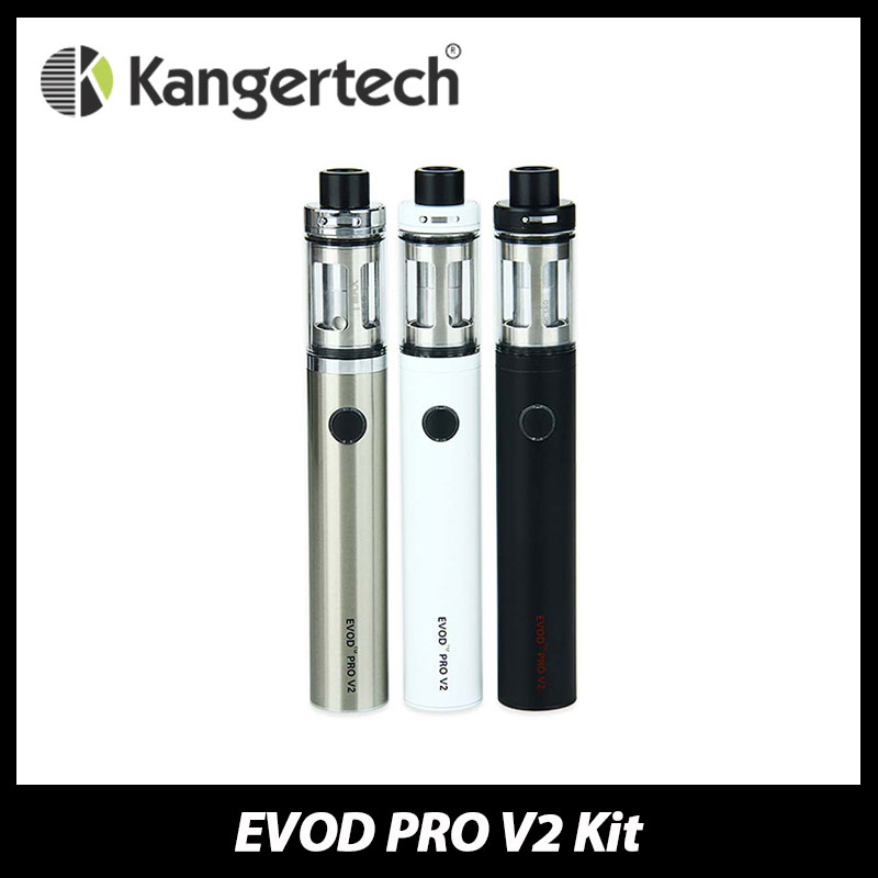 Original Kanger EVOD PRO Starter Kit 2500mah Built-in Battery 4.0ml Top Refilling Tank with CLRBA EVOD Pro All-in-one