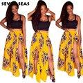 Африканские Женская Одежда Traditionnelle Dashiki Отпечатано Рукавов Африканские Длинные Платья для Женщин Crop Top