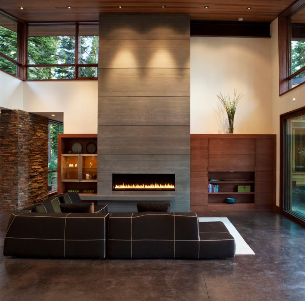 Inno Living 800mm Intelligent Control Kominek Bio Fireplace Burner