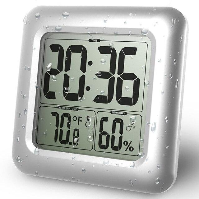 Aliexpress.com: Acheter Baldr Étanche Douche Horloges Montre ...