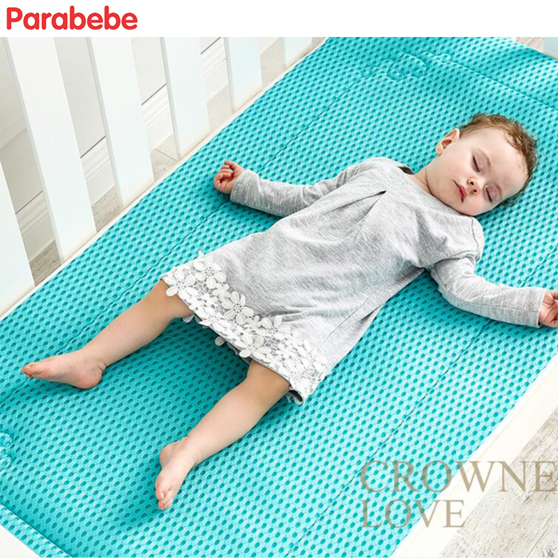 120CM*60CM Baby Mattress Padding Infant Bedding Bumper Soft Polyester Mattress Pad Summer Winter Double Sides Mattress For Kids promotion 6pcs baby bedding set cot crib bedding set baby bed baby cot sets include 4bumpers sheet pillow
