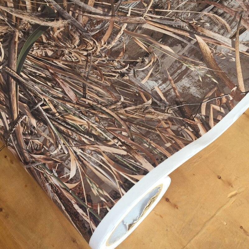 Etiqueta engomada del coche del camuflaje del ORINO de la película del vinilo del Realtree de la hierba de la sombra caliente