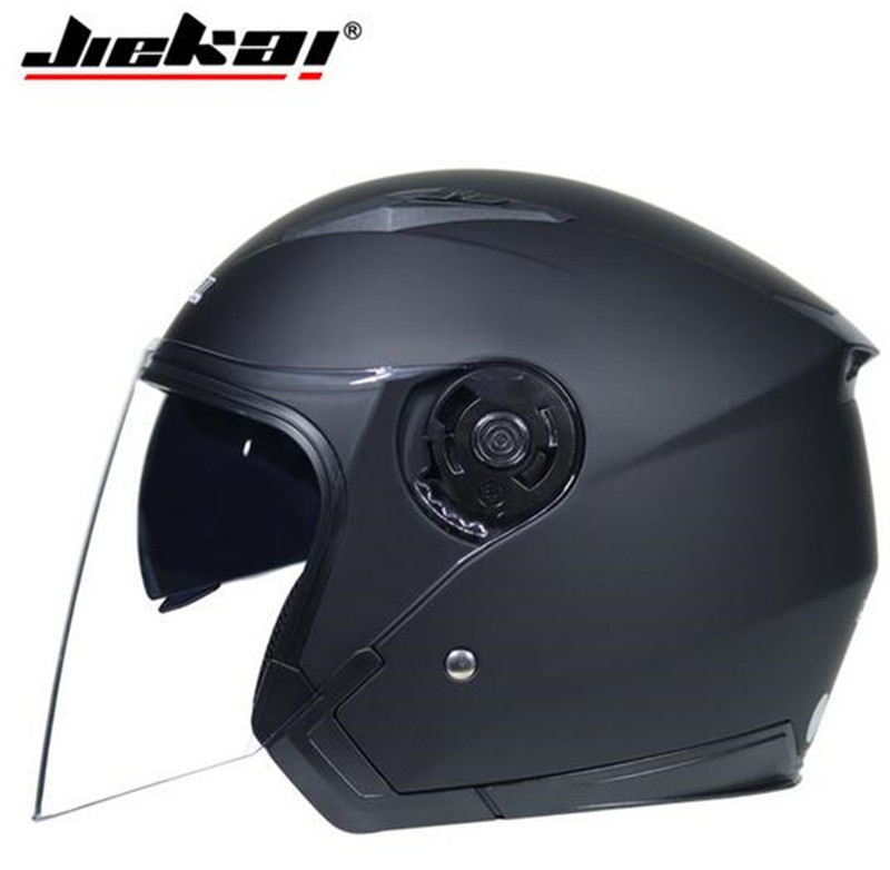 JIEKAI Helmet Motorcycle Open Face Capacete Motocicleta Cascos Para Moto Racing Vintage Helmets