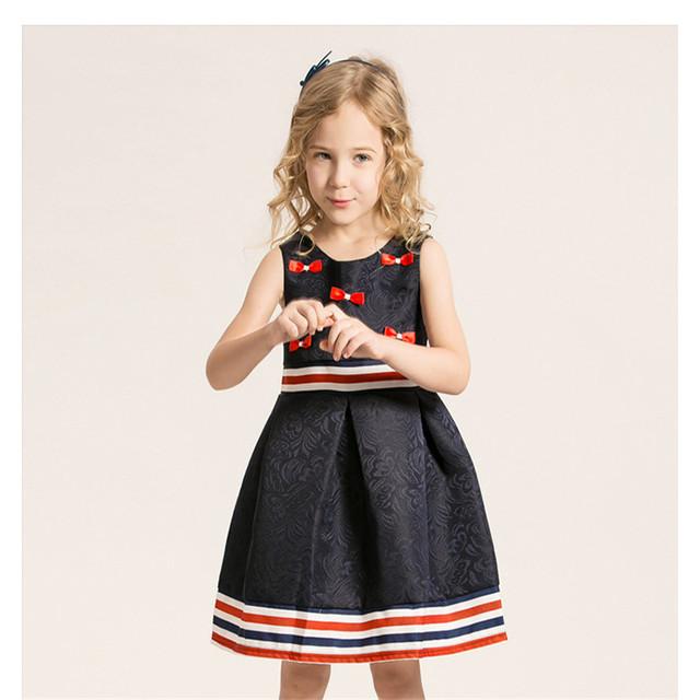 Vestido de las muchachas novatx niños vestidos de princesa para niña niños ropa de verano para niños vestido de fiesta para las niñas ropa de bebé de moda d2124