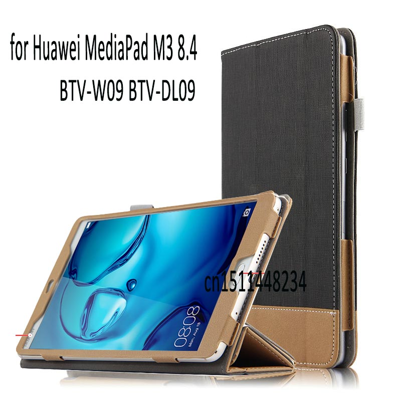 for Huawei MediaPad M3 8.4 BTV-W09 BTV-DL09 Stand Smart PU Leather Cover Tablet Case Magnetic Sleep wake up case+Stylus coque smart cover colorful painting pu leather stand case for huawei mediapad m3 lite 8 8 0 inch cpn w09 cpn al00 tablet