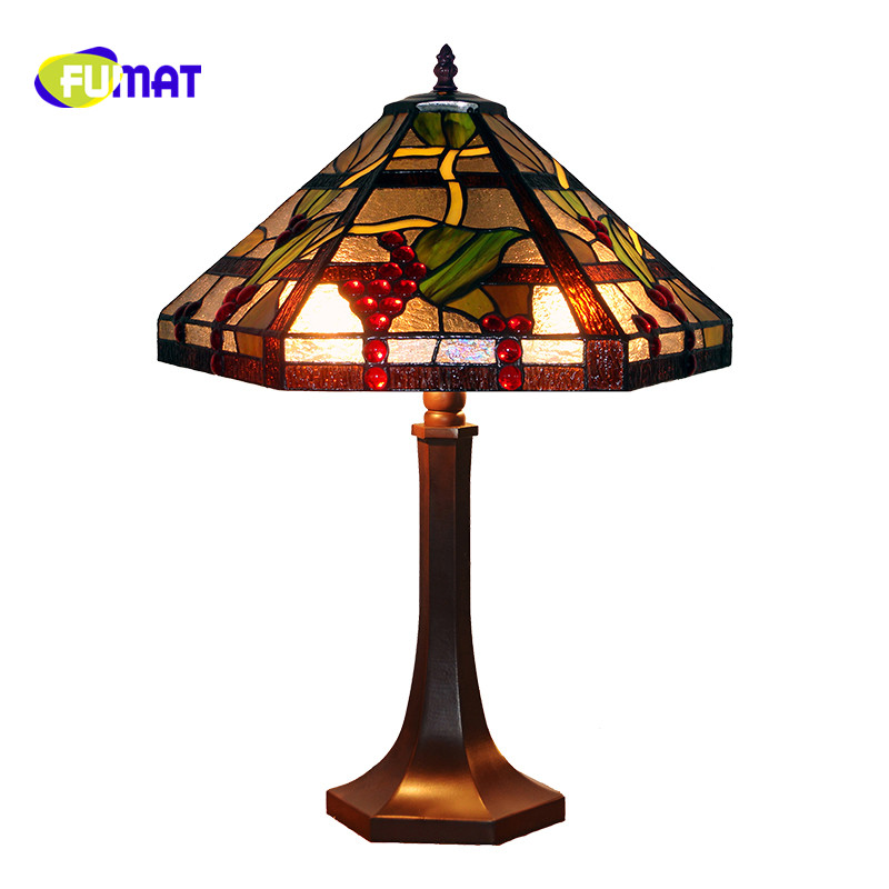 Фумат Шестигранная настольная лампа прикроватная теплая креативная Ретро романтическая Роскошная арт американская кантри гостиная спаль