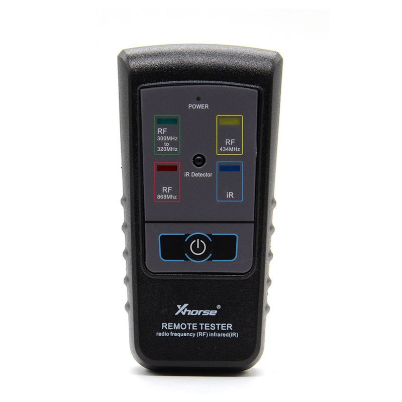 Xhorse Radio Frequency Infrared RF IR Remote Tester For 300Mhz-320hz 434Mhz 868M