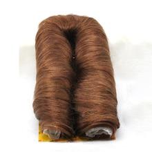 Dlme 27 шт. Bump Расширение Короткие плетение из натуральных волос Бесплатная доставка черный, красный блондинка коричневый Цвет без пролить синтетические