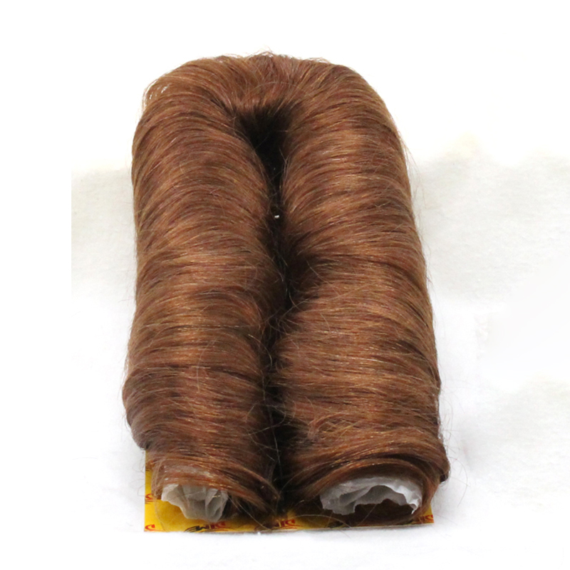 DLME 27 Pieces Bump Extension Short Weave Natural Hair Free Delivery Black Red Blonde Brown Color Synthetic Hair