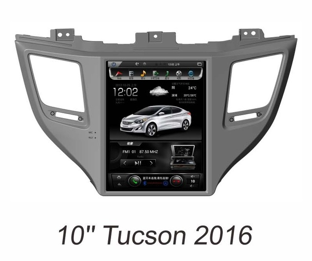 Otojeta Vertical 10 Inch Android 6 0 Car Dvd Player For Hyundai Tucson 2016 Gps Navi Headunit Auto Radio Stereo