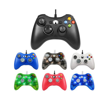 For Xbox 360 Microsoft USB Wired Controller PC Cellphone Joypad Gamepad Console Wired For XBOX360 Game Joystick