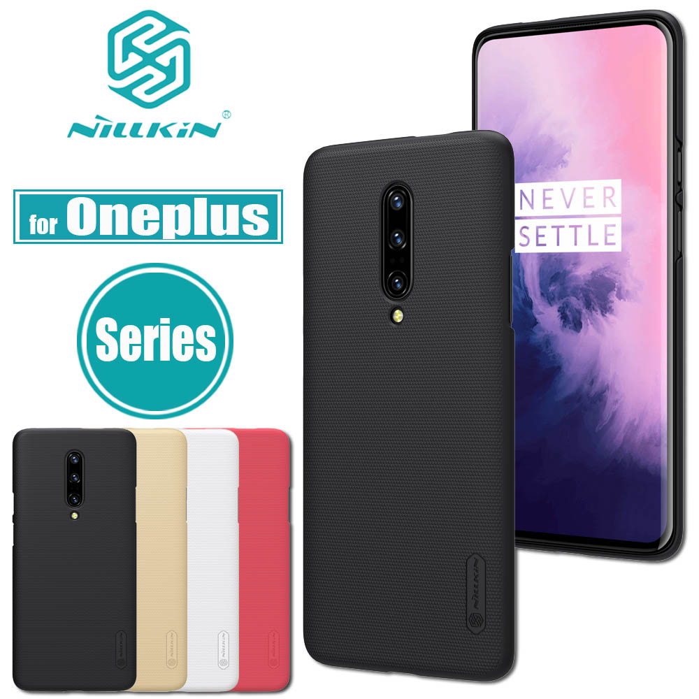 for Oneplus 7 Pro 6T 6 5T 5 Case Nillkin Frosted Matte Hard PC Plastic Phone Bag Back Full Cover for One Plus 7 PRO 6T 6 5T 5for Oneplus 7 Pro 6T 6 5T 5 Case Nillkin Frosted Matte Hard PC Plastic Phone Bag Back Full Cover for One Plus 7 PRO 6T 6 5T 5