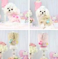 ノーブルファッション犬猫王女衣装子犬暖かいソフトパーカーで帽子ワンワン犬秋冬ジャケットペット犬のコート1ピースxs-xl